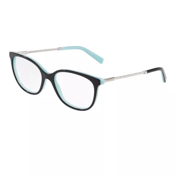 c1381eef1c Tiffany   Co. Eyeglasses TF2168 8055 Black on Blue